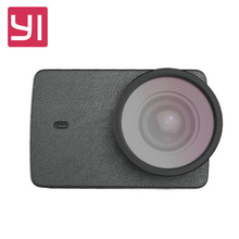 YI Protective Lens + Leather case for YI 4K Action Camera / YI 4K Plus Action Camera Sports Action Camera Accessories