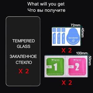 Image 5 - 2 pièces En Verre Trempé pour Samsung Galaxy A50 A10 A70 Protecteur Décran En Verre pour Samsung A50 A30 A20E A70 A60 A80 A20 A10 Verre