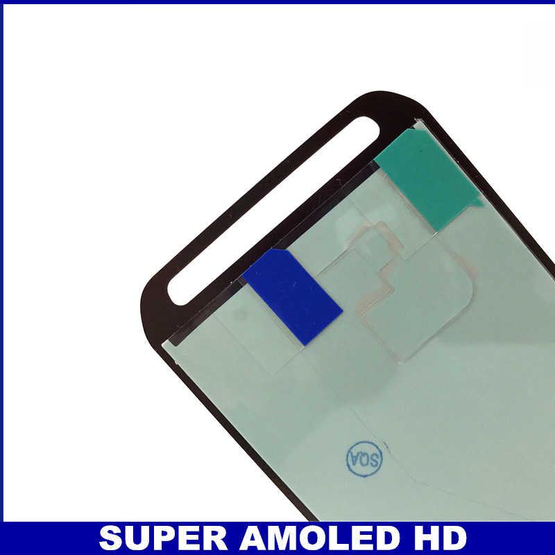 100% اختبار سوبر AMOLED عرض لسامسونج غالاكسي S5 نشط G870 G870A LCD مجموعة المحولات الرقمية لشاشة تعمل بلمس استبدال