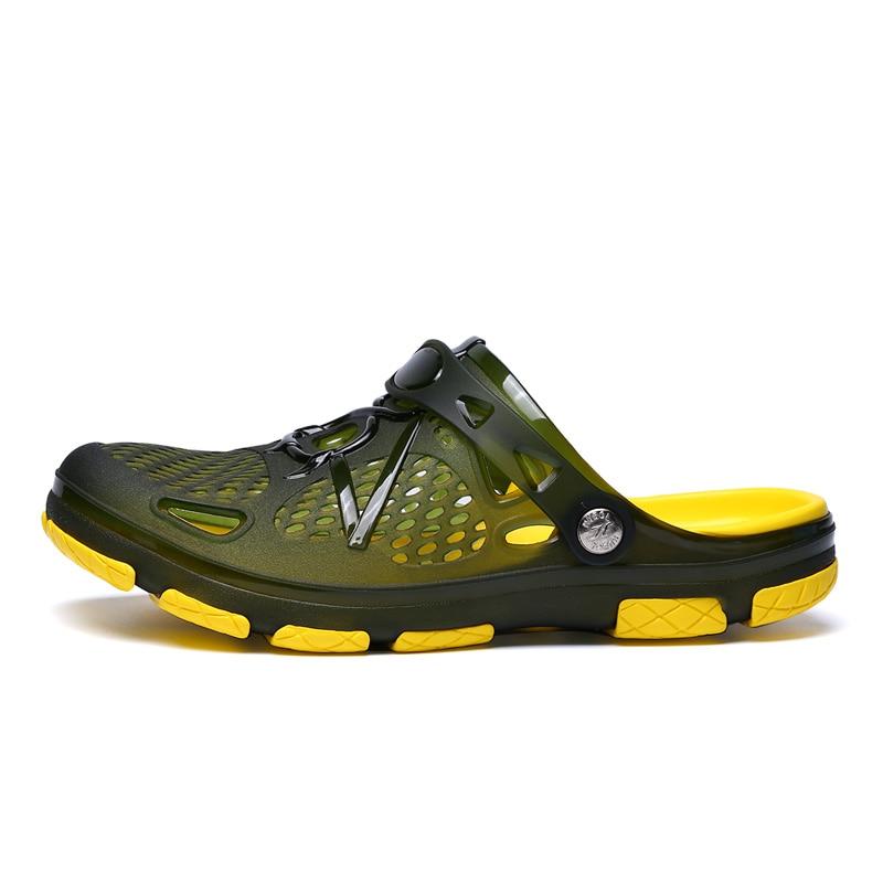 d62b36a3f NEW Garden Flip Flops Water Shoes Men Quick Drying Summer Beach Angle  Slipper Chaussure Homme Outdoor