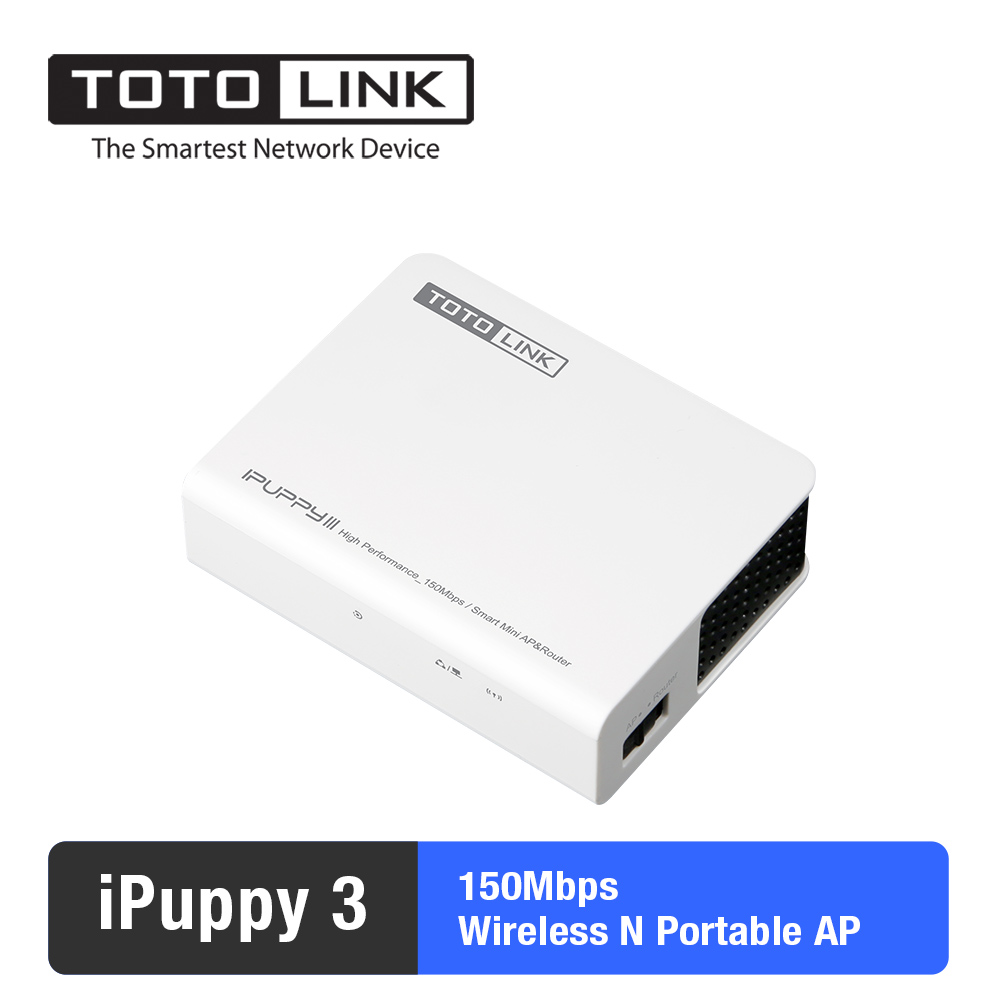 Totolink Ipuppy Iii 150mbps Mini Size Wireless N Portable Router N150usm Usb Adapter Access Point With Micro 20 Port In Routers From Computer Office On
