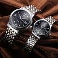 fashion men's women watches automatic mechanical waterproof steel casual male clocks tevise brand luxury female wristwatch