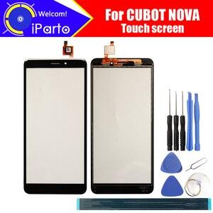 Image 1 - CUBOT NOVA Touch Screen Glass 100% Guarantee Original Glass Panel Touch Screen Glass  For CUBOT NOVA