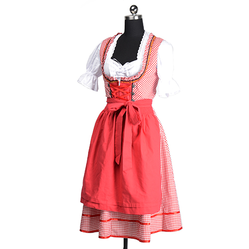 Popular Red Peasant Dress-Buy Cheap Red Peasant Dress lots from ...