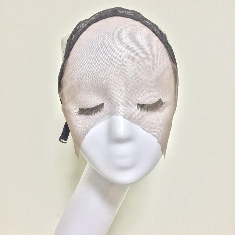 메쉬 프런트 Glueless 레이스가 발 모자와가 발을 조정 스트랩과 여성용 헤어 & Hairnets Easycap 6020에 대 한 모자를 만들기위한 모자