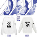 KPOP F(x) New Album 4 Walls Support FX Hoodies Long Sleeve Shirt Fx Luna Amber Krystal Womens Unisex Pullover Hoodie Sweatshirt