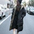 Mujeres chaqueta de invierno Femme Cashmere Parka espesar abajo pato abajo cubre más el tamaño delgado Outwear caliente canadá Goode mujeres 1511 S-3XL
