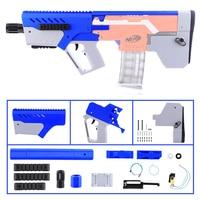 Внешний вид полностью автоматическая MXD 1 Установите комплект для Nerf stryfe синий + серый