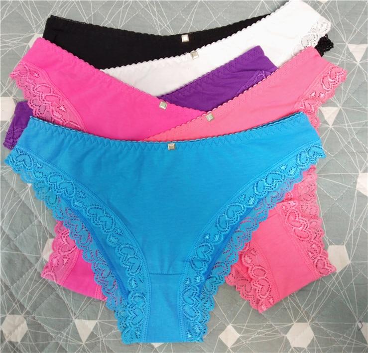84e9dd7c8ff9b Dropwow Free shipping 5pcs lot Women s cotton panties women s ...