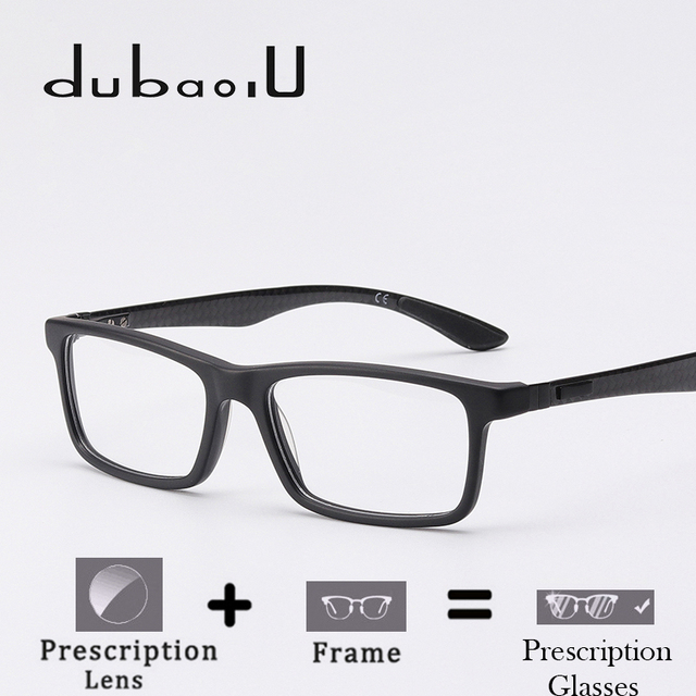4756152320 Acetate Prescription Glasses Men Vintage Retro Rectangle Optical Myopia  Computer Transparent Prescription Glasses For Men  U3067