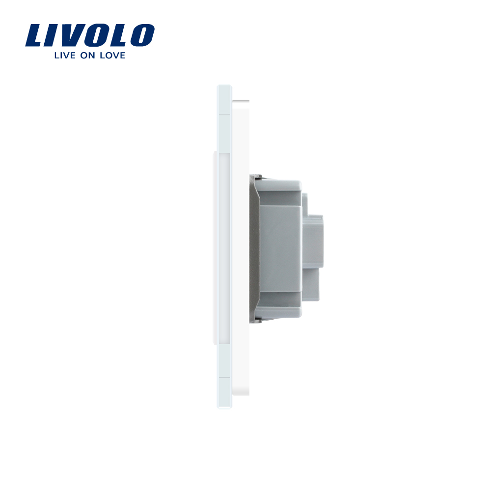 Image 5 - LIVOLO  Double Israel Power 16A Socket, Tempered White/Black Glass Panel, AC 100~250V,Siamesed Design-in Electrical Sockets from Home Improvement