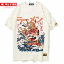 Aelfric Eden Japanese Cartoon 3d Print Short Sleeve T Shirts Streetwear Fashion Casual Men Hip Hop