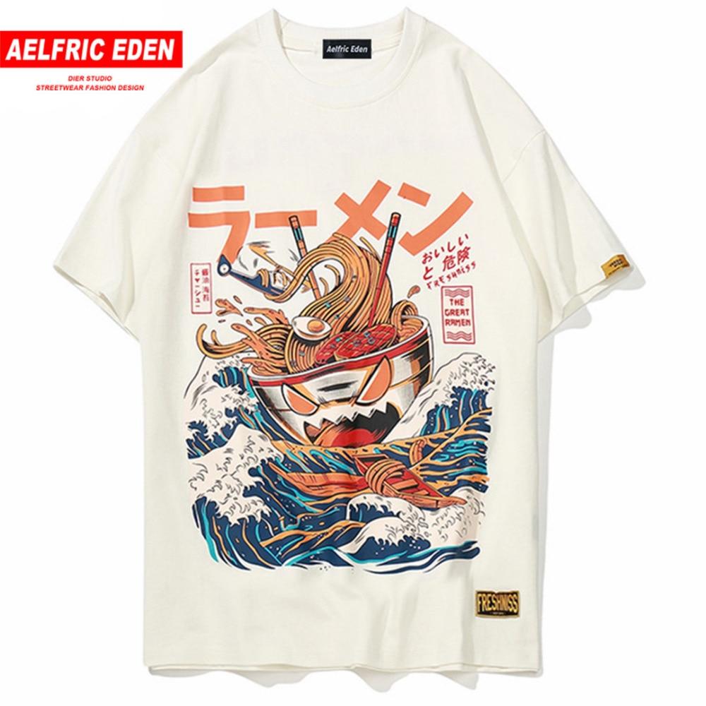 Aelfric Eden Japanese Cartoon 3d Print Short Sleeve   T     Shirts   Streetwear Fashion Casual Men Hip Hop   T  -  shirt   Retro Tops Tees Fs04