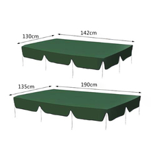 Summer Water Sun Proof Top Cover Canopy Replacement For Garden Courtyard Outdoor Swing Chair Hammock Canopy Dust Cover Awning 3