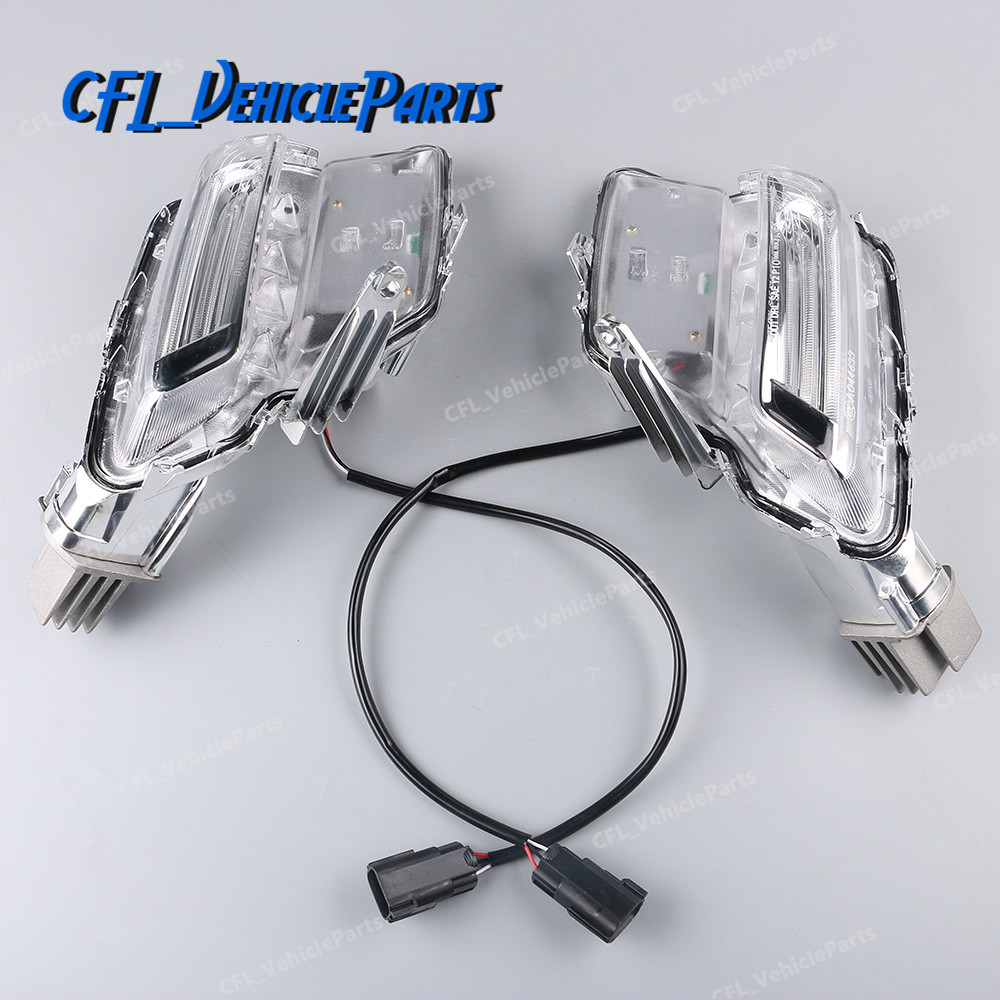 Pair Left+Right Fog Light Lamp Clear LED Auto Driving Light 31364330 31364331 For <font><b>Volvo</b></font> <font><b>XC60</b></font> 2014 2015 <font><b>2016</b></font> 2017 2018 image