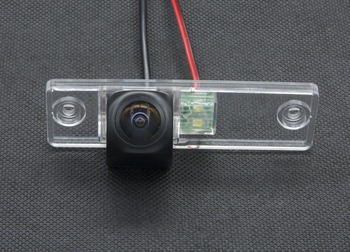 Fisheye 1080P MCCD Car Parking Rear view Camera For Toyota Fortuner SW4 2005 2006 2007 2008 2009 2010 2011 2012 Camera Reverse image