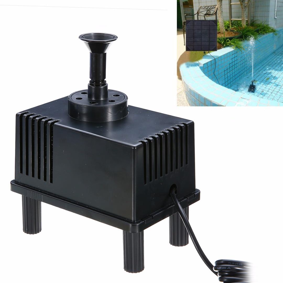 popular 180lh 11w garden solar power fountain water pump with filter panel water - Solar Powered Fountain