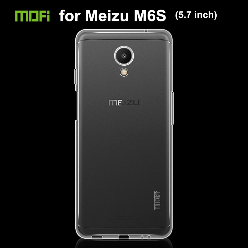 Pour Meizu M6S (5.7 pouce) Cas de couverture de Tpu Silicone Cas pour Meizu M6S Couverture Arrière Téléphone Cas Coque Fundas Gsm Hoesjes