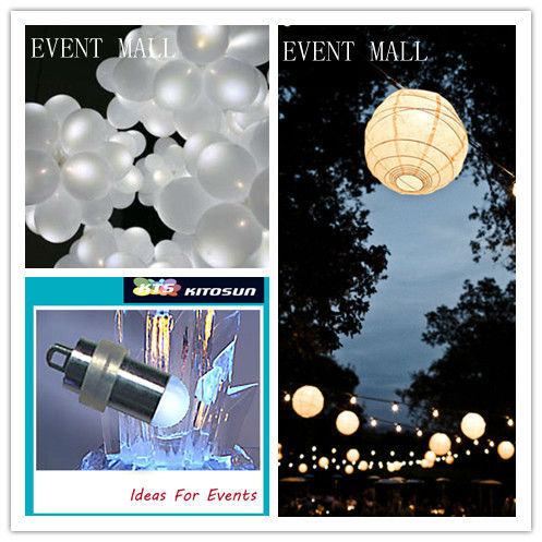 10pcs* LED Waterproof Mini Party Lights In Balloon RGB Slow Fade Balloon Floral Led Lights For Wedding Party Centerpieces Lamps