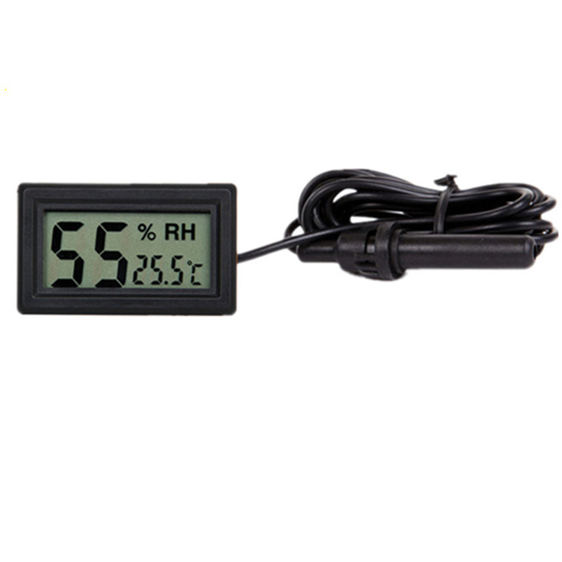 Free Shipping Wholesale Mini LCD Digital Thermometer Hygrometer Temperature Indoor Convenient Temperature Sensor Humidity Meter-in Cable Tools from Consumer Electronics