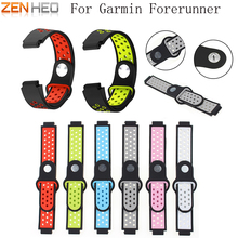 Soft Silicone Replacement Watch Band for Garmin Forerunner 230 / 235 / 220 / 620 / 630 / 735 Smart Watch Replacement Wrist Strap 21mm soft silicone strap replacement watch bands tools lugs adapters for garmin forerunner 230 235 220 watch watch accessories