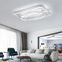 Дома светодиодный потолочный свет светильник Простой Круглый Форма современный Крытый лампы современной для Гостиная Спальня акрил