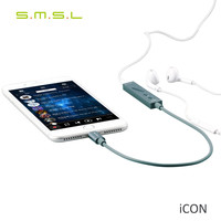 SMSL ICON HIFI Audio Lighting Decoder DAC AMP Built In Microphone Portable Headphone Amplifier For Apple