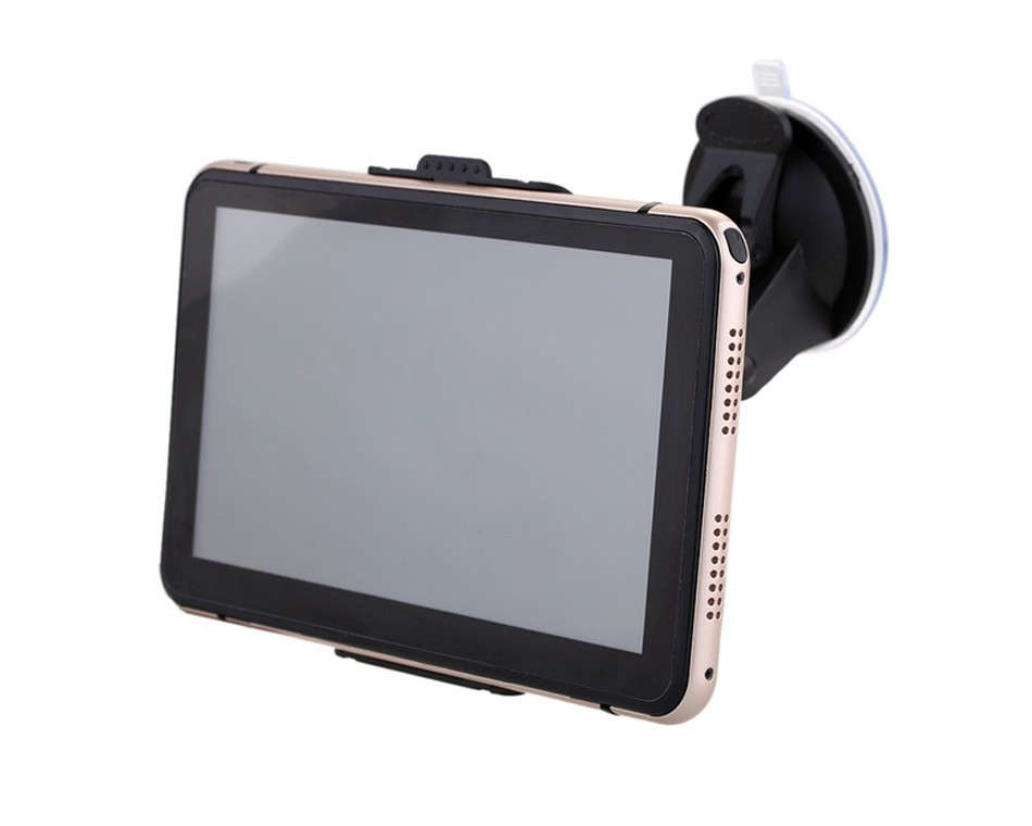 7 inch Touch Screen Car GPS Navigation 128MB RAM 4GB Portable Truck Navigator MP3 MP4 FM Video Play Vehicle GPS + Free Map -09
