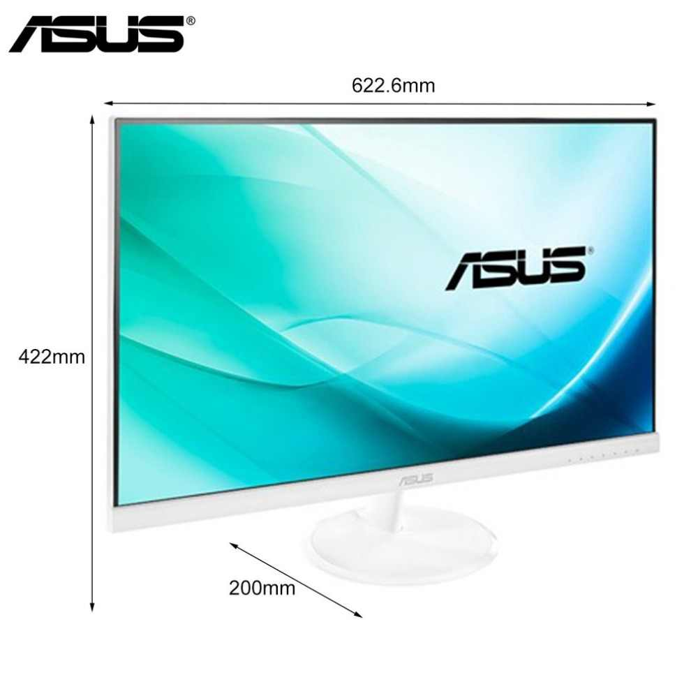 New ASUS VC279N-W Ultra Slim 23 Inch 5ms HDMI Widescreen LED Backlight  Monitor Anti-glare Computer Monitor for Home Use