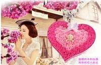 Оптовая продажа в форме сердца 92 шт. Искусственные цветы розы подарок ко Дню Святого Валентина розы цветок Мыло Бесплатная доставка