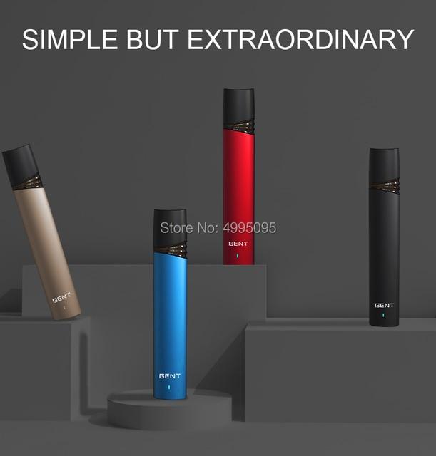 SMY OCO GENT MTL Vape Pod система стартовый набор электронная сигарета испаритель инъекционные электронные сигареты 370 вэпорайзер на батарейках Быстрая зарядка