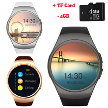 SunKinFon KW18+ Clock Smart Watch Android Health Tracker MTK2502C Bluetooth Notification Support SIM TF Card for Samsung Xiaomi