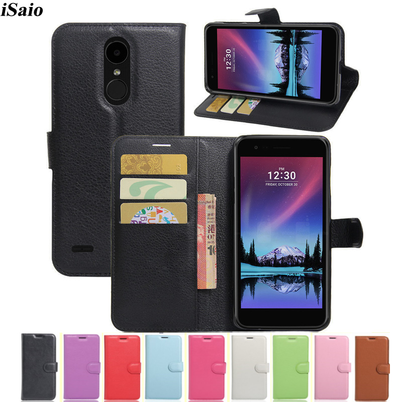 For LG K10 2017 K20 Plus Wallet Flip Case PU Leather Cover Euro US for LG K10 2017 M250 M250N M250K Phone Case Card Holders