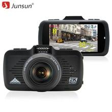 Junsun A799 Câmera Do Carro DVR GPS 2 em 1 Ambarella A7LA50 com Speedcam Super Full HD 1296 P Traço Cam Gravador De Vídeo Blackbox