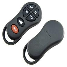 DAKATU автомобильный дистанционный ключ оболочки для Chrysler fob 6 5+ 1 кнопки автосигнализации дистанционный передатчик замена оболочки