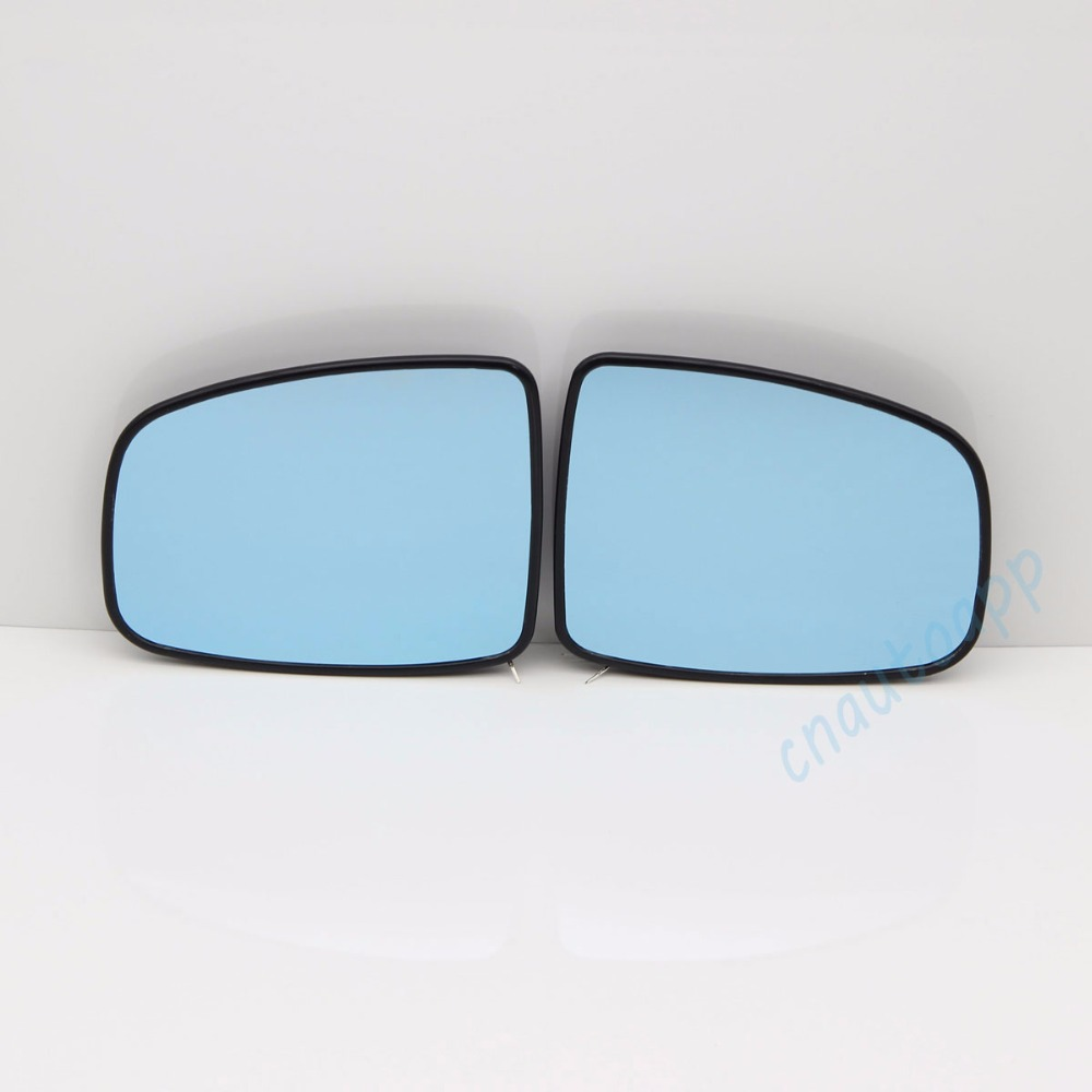 Blue Mirror Car Side View Mirrors Glare Proof Mirror LED Turn Signal Lamp Heated Rearview Mirror Lens For Honda Fit 2014-2016 недорго, оригинальная цена