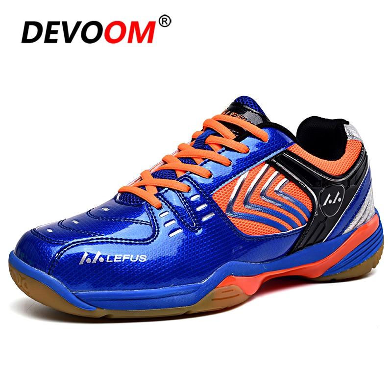 Nouveau professionnel unisexe Gym Badminton chaussures nouveau respirant Anti-glissant chaussures de Tennis Mujer 2019 Sport femmes chaussures hommes baskets