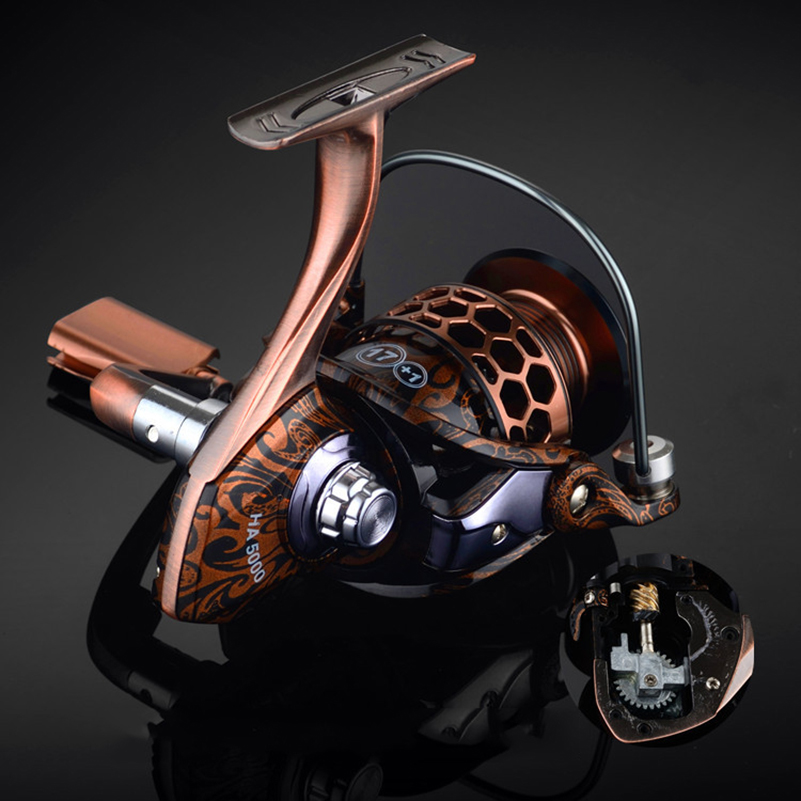 Image 5 - YUYU Quality full metal Fishing Reel fish reel castfish surfcasting reel spinning reel for carp fishing spinning reel Drag 10kg-in Fishing Reels from Sports & Entertainment