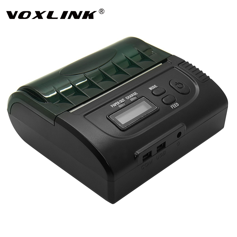 все цены на  VOXLINK 80mm Portable Bluetooth Wireless Mini Receipt Thermal Printer for Android IOS Mobile / Windows PC  онлайн