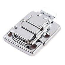 Новое высокое качество Нержавеющая сталь хромированная застежка-тогл для груди Коробка Чехол костюм чехол инструмент Застежка#67271
