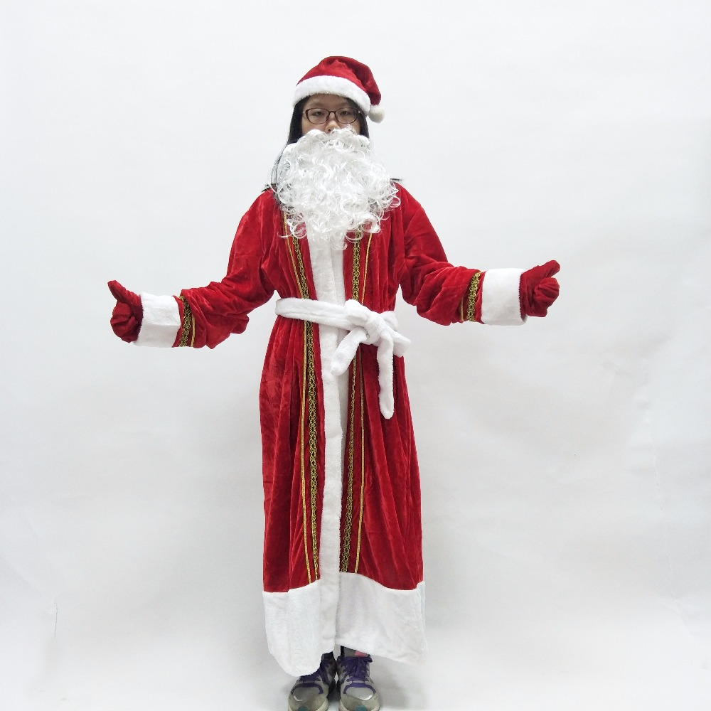Russia christmas santa claus costume women cosplay