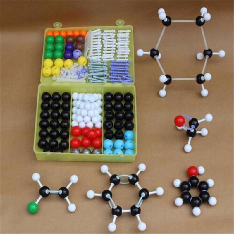 267PCS Molecular Model Set Kit General And Organic Chemistry Learning Educational Model Set For School Student