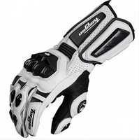 Livraison gratuite afs10 gants de moto gants de cyclisme de course sur route gants en cuir véritable gants en carbone