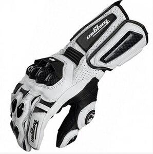 Image 1 - 送料無料 afs10 バイクグローブロードレースグローブサイクリンググローブ革手袋炭素手袋