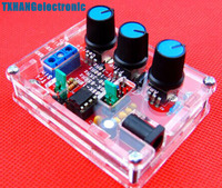XR2206 Function Generator DIY Kit Sine Triangle Square Output 1HZ 1MHZ Case UK
