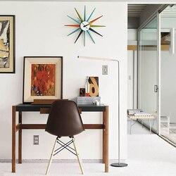 Reloj de pared de diseño moderno zegar cienny horloge murale moderne accesorios de decoración digital para el hogar