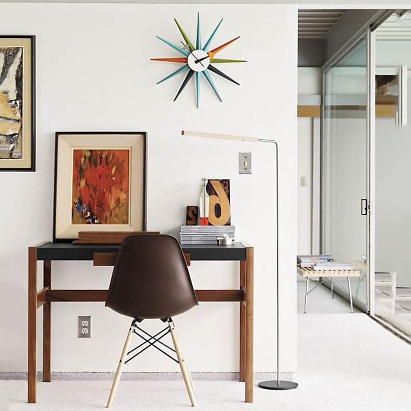 Wall Clock Modern Design Zegar Scienny Horloge Murale Moderne Digital Home Decoration Accessories Relogio Parede Wandklok Wood