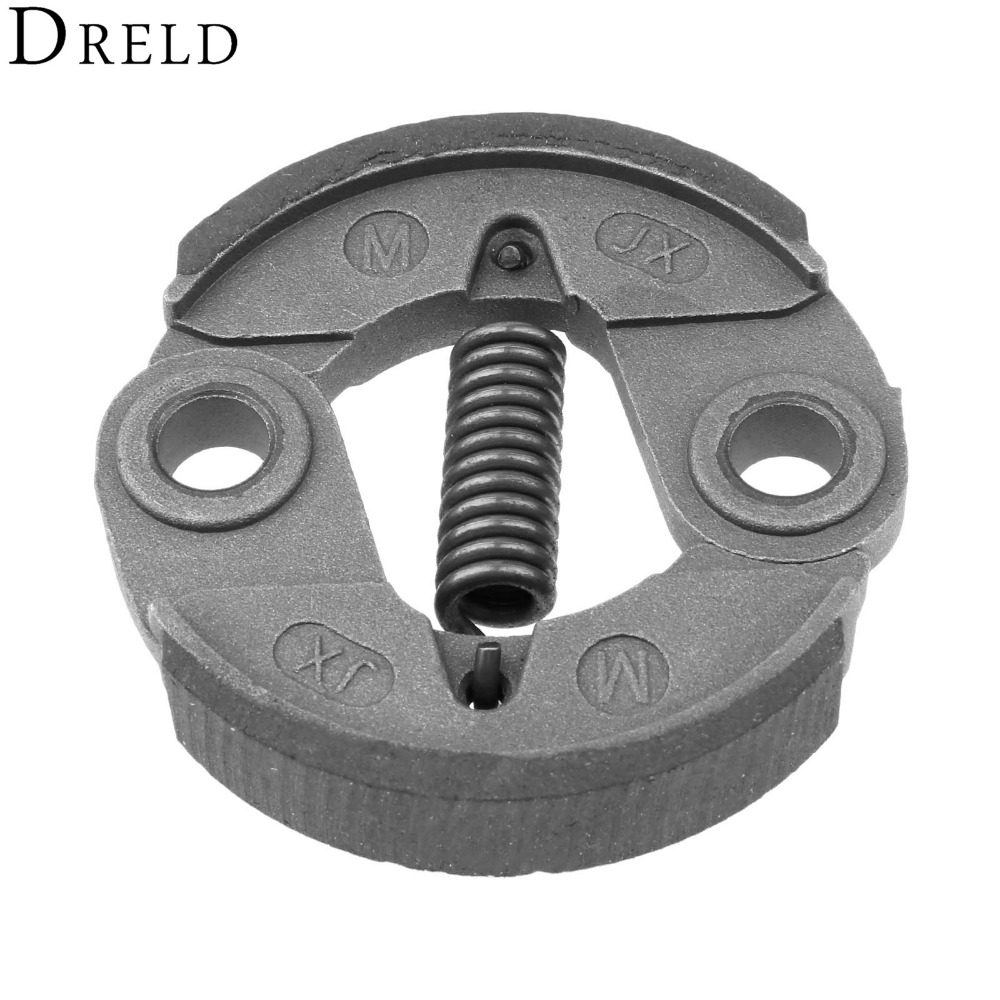 DRELD 33CC 43CC 52CC Brush Cutter Clutch Aluminium Trimmer Clutch For Cg430 Cg520 40-5F 44-5F Grass Trimmer Parts Replacement