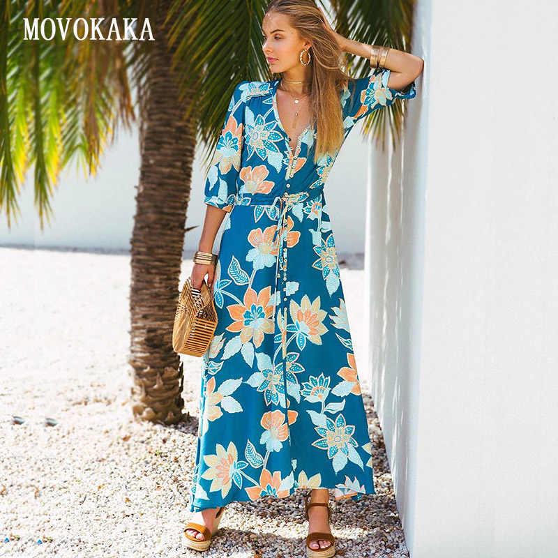 New Floral Women Dress Sale Print Elegant Pleated Fashion ...