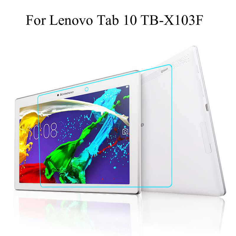 Tempered Glass membrane For Lenovo Tab 10 10.1 TB-X103F Steel film Tablet Screen Protection Toughened